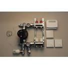 Värmestyrning golv komplett system - 2 kretsar - analog