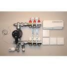 Värmestyrning golv komplett system - 3 kretsar - analog