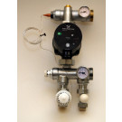 Pump shunt - shunten m. Grundfos Alpha2 Pump - Pris komplett